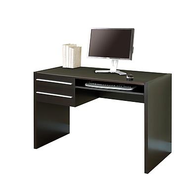 Monarch Specialties Inc. Hollow-Core Computer Desk, Cappuccino (I 7015 )