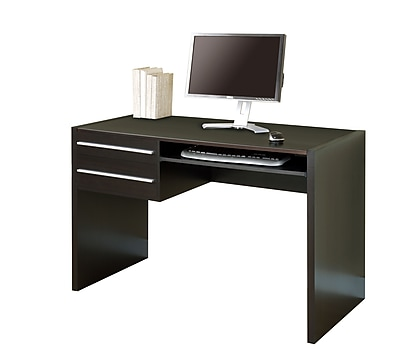 Monarch Specialties Inc. Hollow-Core Computer Desk, Cappuccino (I 7015 )