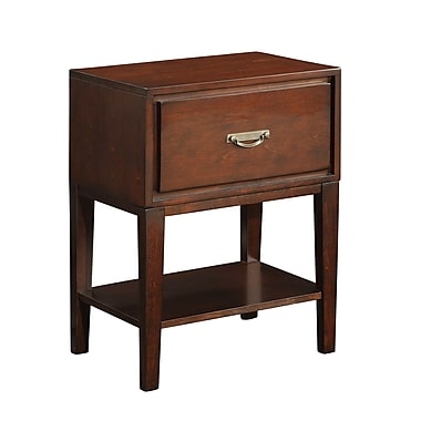 HomeBelle Rectangle Accent Table Nightstands
