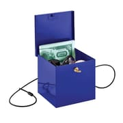 MMF Industries™ STEELMASTER® Soho Collection™ Store-It Box, Blue