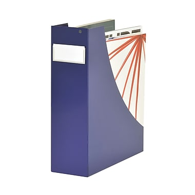 MMF Industries™ STEELMASTER® Soho Collection™ Magazine Bin, Blue