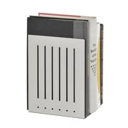 "MMF Industries™ STEELMASTER® 8"" Heavy Duty Bookend, Silver"