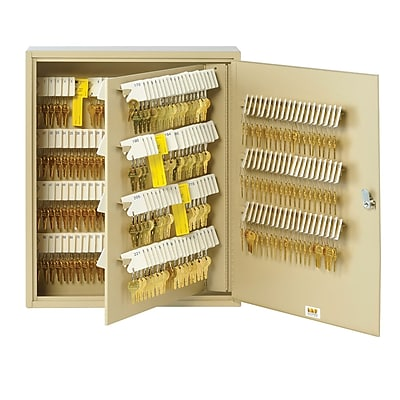 MMF Industries™ STEELMASTER® Unitag™ 320 Keys Cabinet, Sand