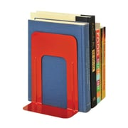 "MMF Industries™ STEELMASTER® Soho Collection 9"" Deluxe Bookend, Red"