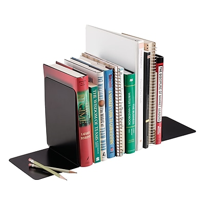 STEELMASTER® Non-Skid Solid Bookends, 8