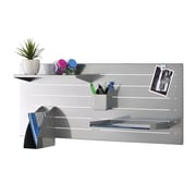 MMF Industries™ STEELMASTER® Slot System Base, Silver