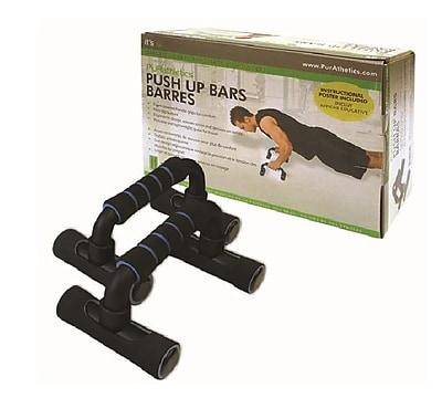 Trimax Sports® Purathletics™ Push-Up Bar, Black