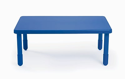 Angeles Value 48'' Rectangular Table, Royal Blue (AB705PB20)