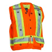 Forcefield Surveyor's Vest, Orange, 2XL