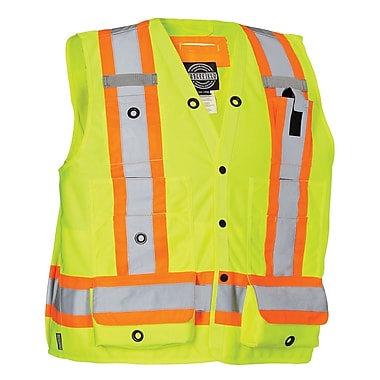 Forcefield Surveyor's Vest, Lime, 5XL