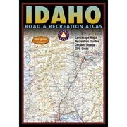 National Geographic Maps Benchmark Idaho Road & Recreation Atlas, 3rd Edition