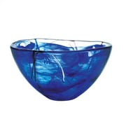 Kosta Boda Contrast Medium Serving Bowl