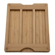 Seville Classics Bamboo Cutting Board w/ Cutting Mats