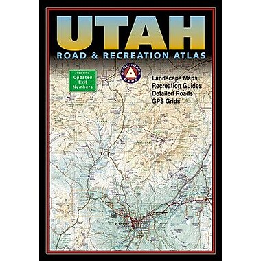 National Geographic Maps Benchmark Utah Road & Recreation Atlas, 5th Edition