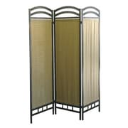 ORE Furniture 72'' x 54'' 3 Panel Room Divider