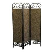ORE Furniture 72'' x 50'' 3 Panel Room Divider