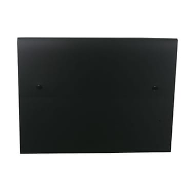 JAM Paper® Portfolio with 2 Button Snap Closure, 9.5 x 12.5 x 0.75, Black, Sold Individually (520BLACK)
