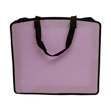 JAM Paper® Art Portfolio Case, 15 x 18 x 3, Light Purple, 2/Pack (79814714g)