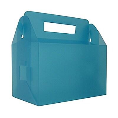 JAM Paper® Plastic Lunch Box, 4-3/4