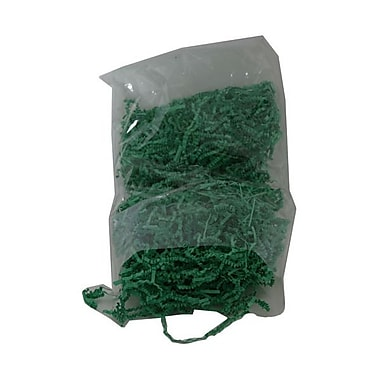 JAM Paper® Shred Tissue Paper Krinkeleen, 2 oz., Green, 5/Pack (1196519g)