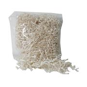 JAM PaperMD – Papier de soie en lamelles Krinkeleen, 2 oz, ivoire, 5/paquet (1192445G)
