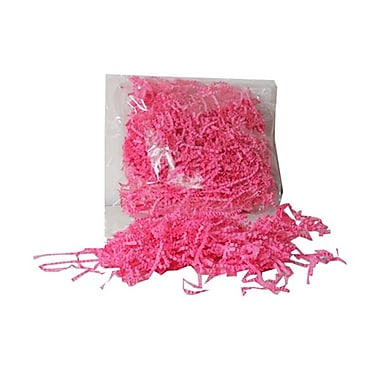 JAM Paper® Shred Tissue Paper Krinkeleen, 2 oz., Hot Pink, 5/Pack (1192448g)