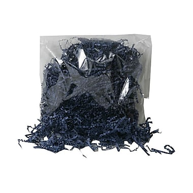 JAM Paper® Shred Tissue Paper Krinkeleen, 2 oz., Navy Blue, 5/Pack (1192460g)