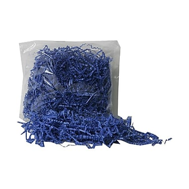 JAM Paper® Shred Tissue Paper Krinkeleen, 2 oz., Presidential Blue, Sold Individually (1192469)