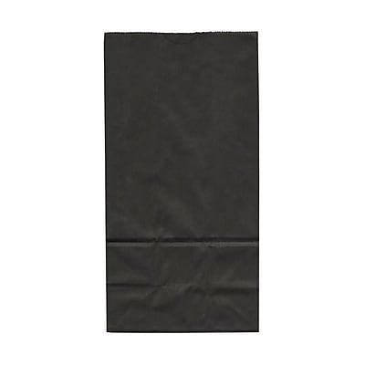 JAM Paper® Kraft Lunch Bags, Medium, 5 x 9.75 x 3, Chocolate Brown, 25/pack (691KRCHBR)