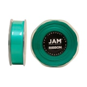 JAM Paper® Double Faced Satin Ribbon, 7/8 Inch Wide x 25 Yards, Teal Blue, Sold Individually (807SATIBU25)