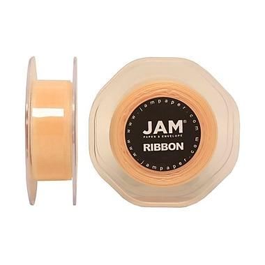 JAM Paper® Sheer Organza Ribbon, 7/8 Inch Wide x 25 Yards, Ivory, Sold Individually (807SHIV25)