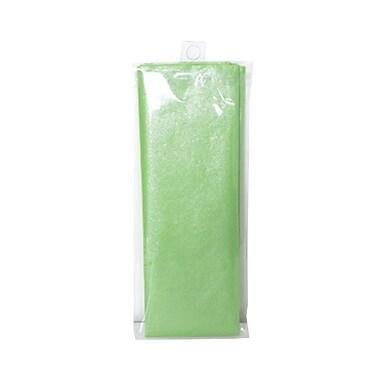 JAM Paper® Shimmer Tissue Paper, Lime Green Kiwi Metallic, 3/pack (1162398)