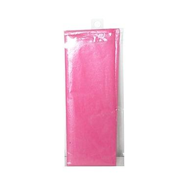 JAM Paper® Shimmer Tissue Paper, Hot Pink Watermelon Metallic, 5 packs of 3 (1162410g)