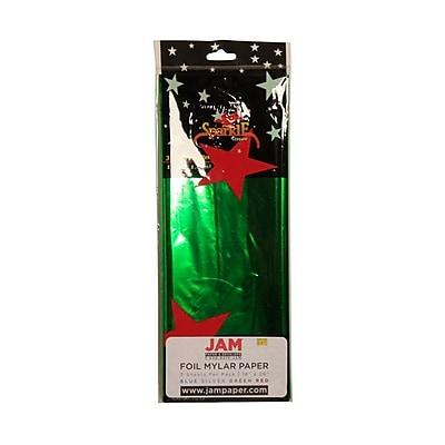JAM Paper® Tissue Paper, Green, 3/Pack (1172413)