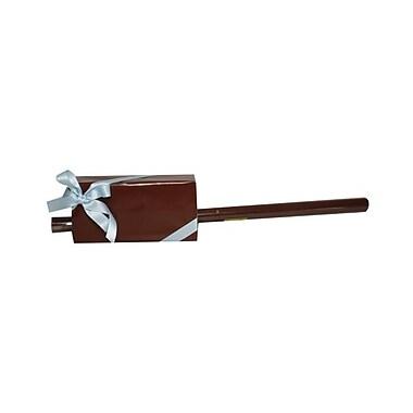 JAM PaperMD – Papier d'emballage cadeau uni, 12,5 pi2, brun chocolat lustré, 5/paquet (377016976g)