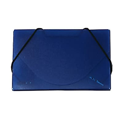 JAM Paper® Plastic Business Card Case, Ice Blue, Sold Individually (363641)