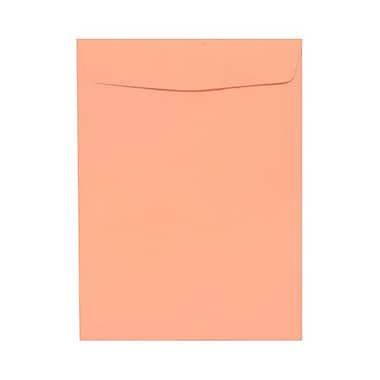 JAM Paper® 9 x 12 Open End Catalog Envelopes, Light Pink, 100/pack (312812930)