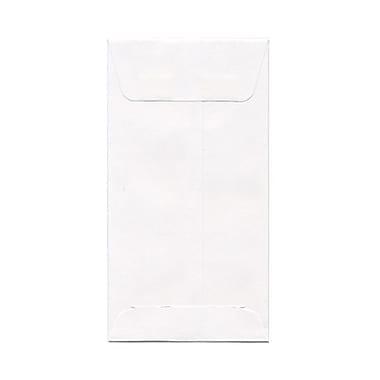 JAM PaperMD – Enveloppes à monnaie nº 7, blanc, 1000/paquet