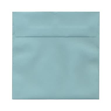 JAM Paper® 6.5 x 6.5 Square Envelopes, Aqua Blue, 1000/carton (LEBAAQ06B)