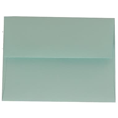 JAM Paper® A2 Invitation Envelopes, 4.38 x 5.75, Aqua Blue, 100/Pack (1523981g)