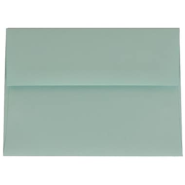JAM Paper® A6 Invitation Envelopes, 4.75 x 6.5, Aqua Blue, 100/Pack (157460g)