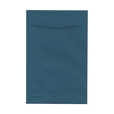 JAM Paper® 6 x 9 Open End Envelopes, Teal Blue, 100/Pack (31287525g)