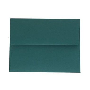 JAM PaperMD – Enveloppes format livret à rabat droit avec fermeture gommée, 4 3/8 x 5 3/4 po, sarcelle, 1000/paquet