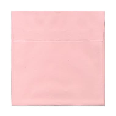 JAM Paper® 6.5 x 6.5 Square Envelopes, Baby Pink, 1000/carton (327912965B)