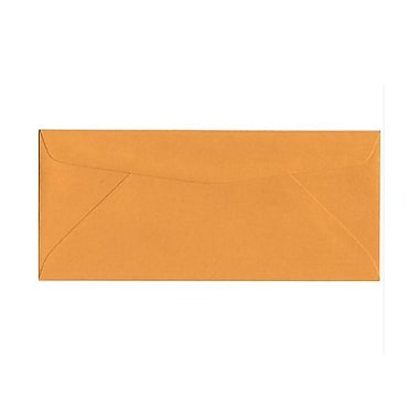 JAM Paper® #10 Business Envelopes, 4 1/8 x 9 1/2, Brown Kraft, 1000/carton (3984B)
