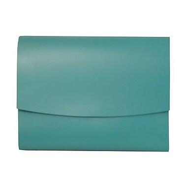 JAM Paper® Italian Leather Portfolio with Snap Closure, 10 1/2