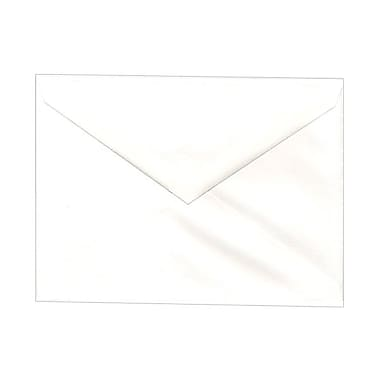 JAM Paper® Booklet V-Flap Envelopes with Gummed Closure, 5-1/4