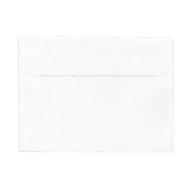 JAM Paper® Booklet Straight Flap Envelopes with Gummed Closure, 5-1/2