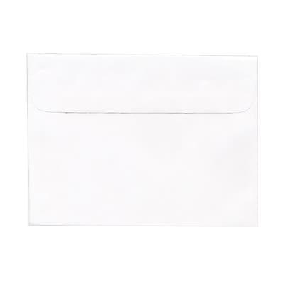 JAM Paper® 5.5 x 7.5 Booklet Envelopes, White, 25/pack (4235)