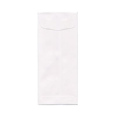 JAM Paper® #10 Policy Envelopes, 4 1/8 x 9 1/2, White, 1000/carton (49856B)